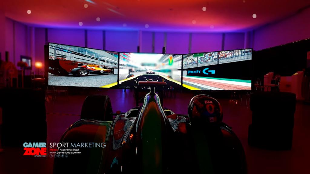 Simuladores de carreras en renta para eventos, activaciones btl, actividades deportivas, con nuestros simuladores de carreras.