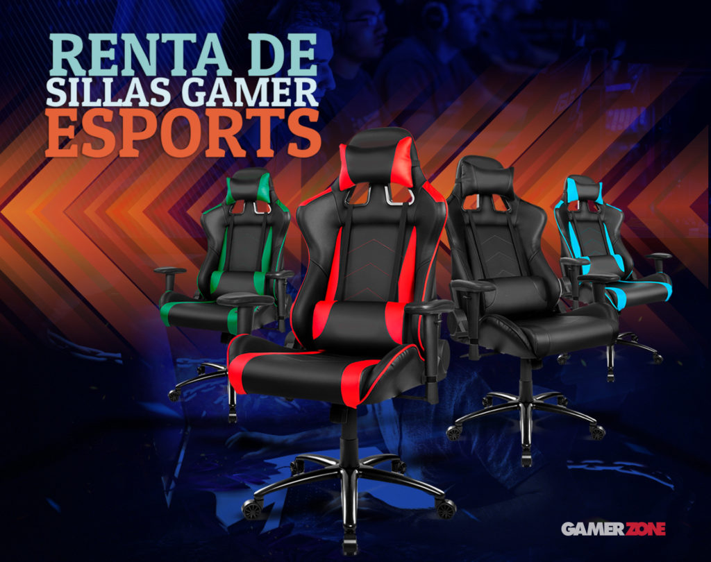 renta  de sillas gamer mexico