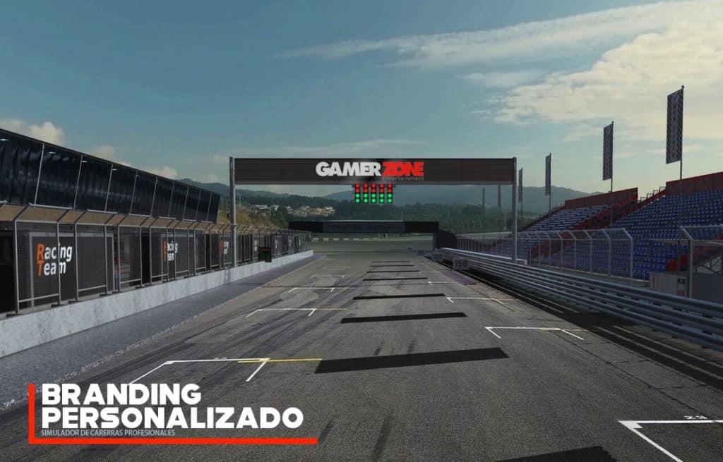 simulador de carreras personalizado