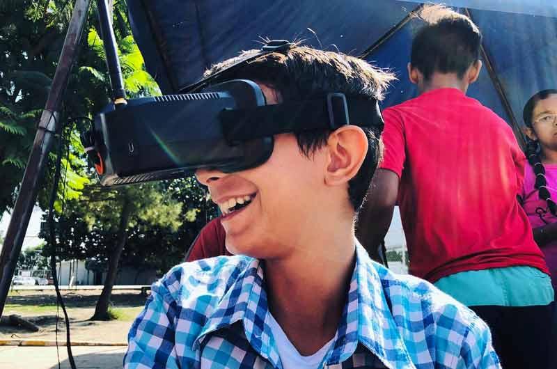 Carro de Control remoto con cámara VR
