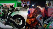 Simulador de Moto de carreras
