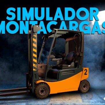 Simulador de Montacargas con sistema de movimiento y realidad virtual